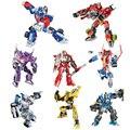 8 Estilos DIY Robot Transformación Alianza Humana Bumblebee Figuras de Acción Juguetes Clásicos Playskool Heroes Rescue Bots Azar Enviar