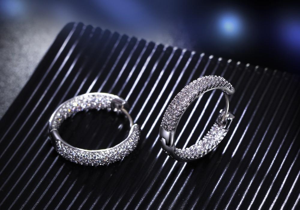 Women hoop Earrings (3)