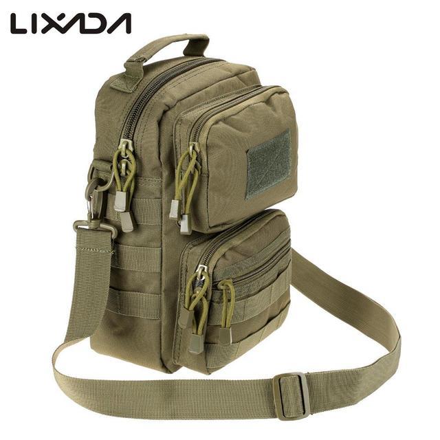 Men Climbing Bags Hot Outdoor Camping Hunting Tactical Shoulder Bag Pack Adjule Crossbody Women