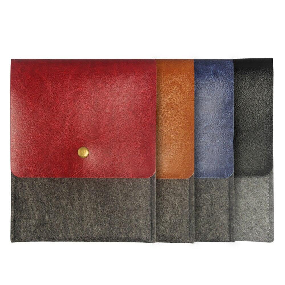 Fieltro de lana bolsa Funda de cuero para bolso básicos Lux 616 627 ... 37933099193