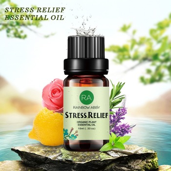 цена 100% Pure Natural Organic, Best Grade Essential Oil, Promote Peaceful Sleep, Relaxation, Tension Relief STRESS RELIEF Essential онлайн в 2017 году