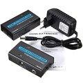 Универсальный 3D HDMI 1080 P HD LAN Extender Разъем Адаптера Более Cat5e Cat6 Кабель RJ45 30 М HDTV Телевизора для TX/RX Extender