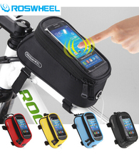 Roswheel New Arrival 4.2/4.8/5.5 Inch Mountain Bike Bicycle Bag Accessories Cycling Handlebar Phone Case