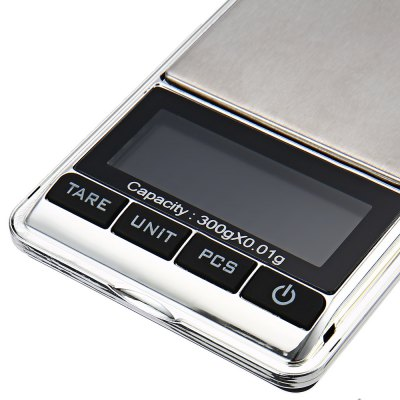 300g Smart Weight Multifunctional LCD Screen High Precision Digital Medical Material Jewelry Scale