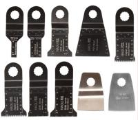 10 Pcs Oscillating Multi Tool Saw Blade Accessories For Ridgid AEG Worx Multi Master Power Tool