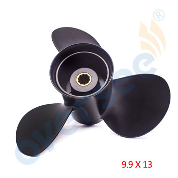 New Propeller 346-64104-5 For Nissan Tohatsu 25-30 HP Outboards 9.9 X 13 10 tooth spline