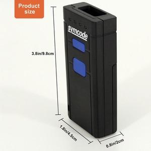 Image 2 - Symcode 1D 2D Bluetooth Barcode Scanner 1D 2D USB Bluetooth 2.4GHz Wireless Barcode Reader Wireless Transfer Distance 100 Meters