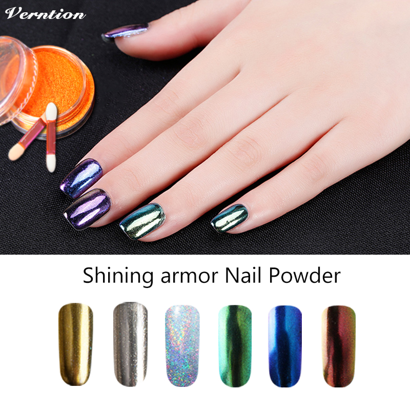 Verntion professional Shinning Magic Mirror Powder DIY 6 Colors ...