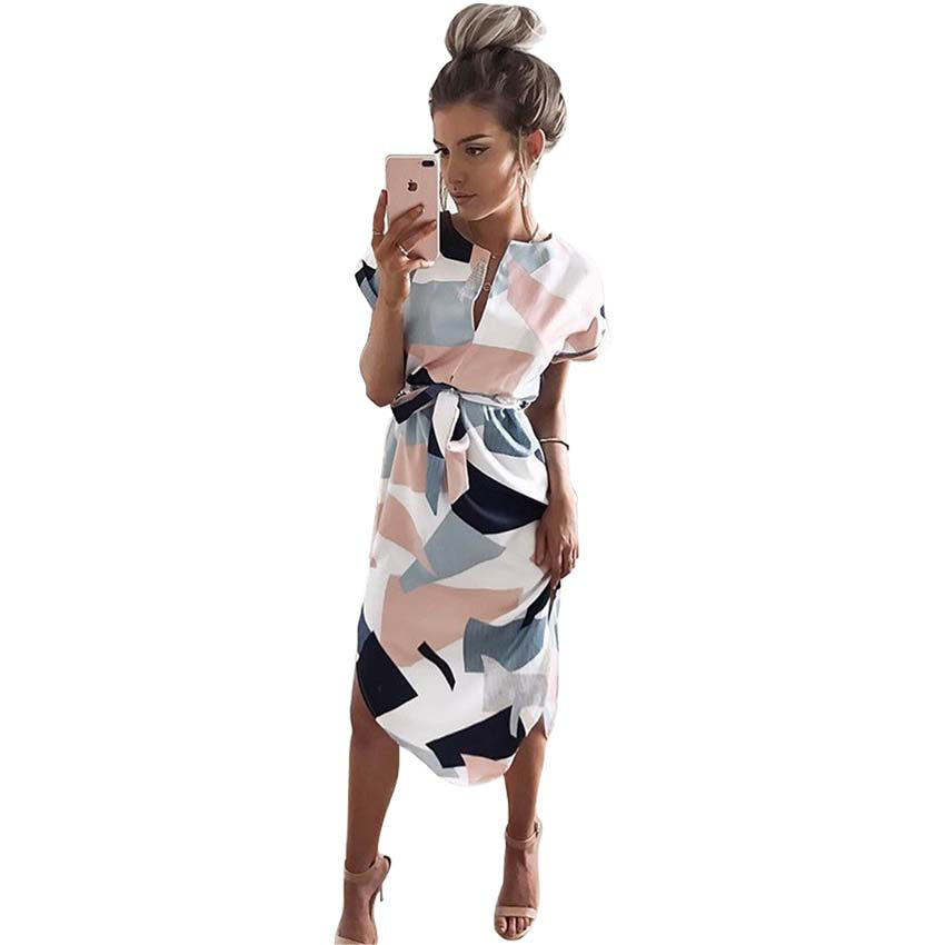 zhishuo Summer Elegant Sexy Women Dresses Vestidos