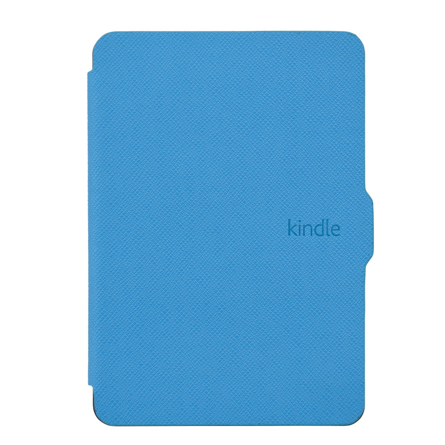 Custodia Smart Cover in pelle sveglia e sleep per Amazon Kindle Paperwhite 1/2 + Magnet + Screen Protector + Touch Stylus Pen Free