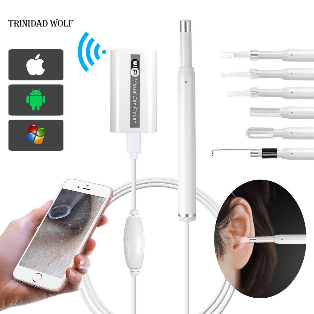 Aliexpress Buy Trinidad Wolf Wifi Ear Otoscope
