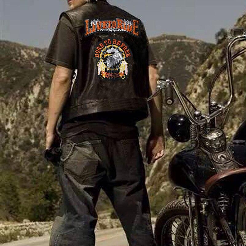 Gilet Biker Live to Ride XXL