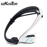 LF 18 Bone Conduction Speakers Wireless Bluetooth Stereo Headset Long Standby Sports Headphone Hands free Earphone For Running
