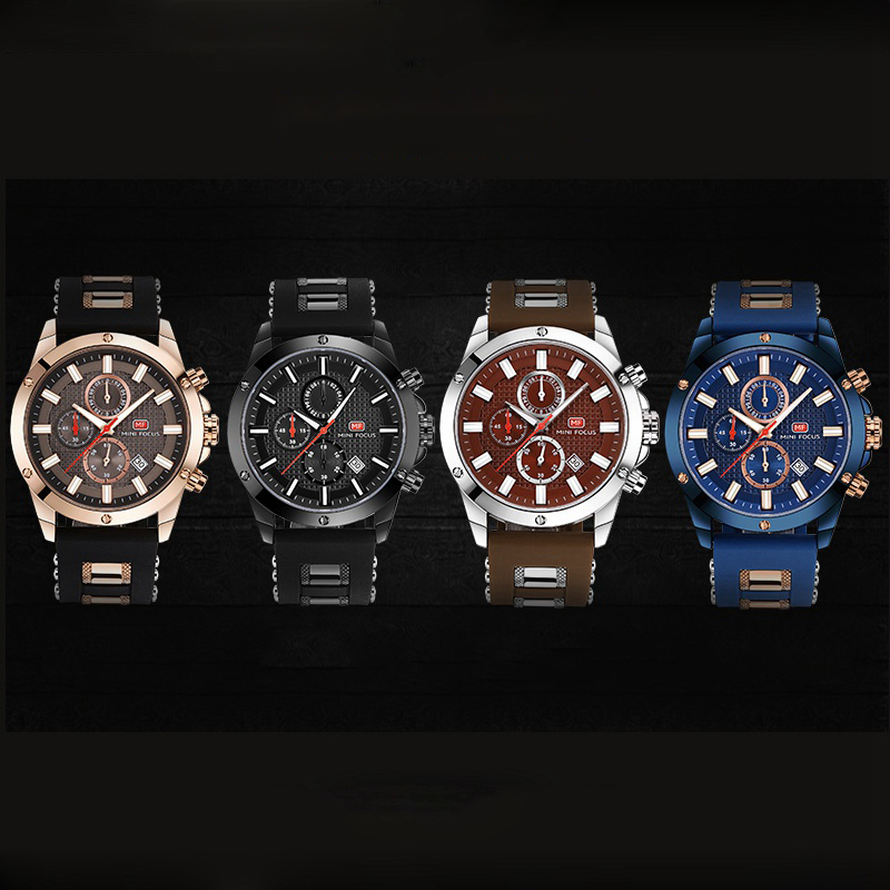 Sport Watch Men Waterproof 30M Silicone Strap Wrist Watches Luxury Man Wristwatch Male Quartz Clock Relogio Masculino Fashion in Digital Watches from Watches