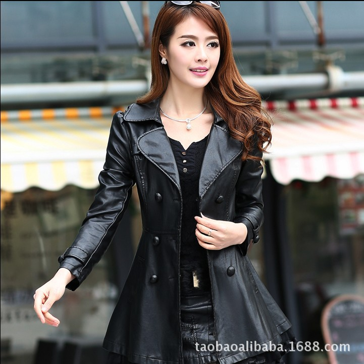 Compare Prices on Ladies Red Leather Jacket- Online Shopping/Buy ...