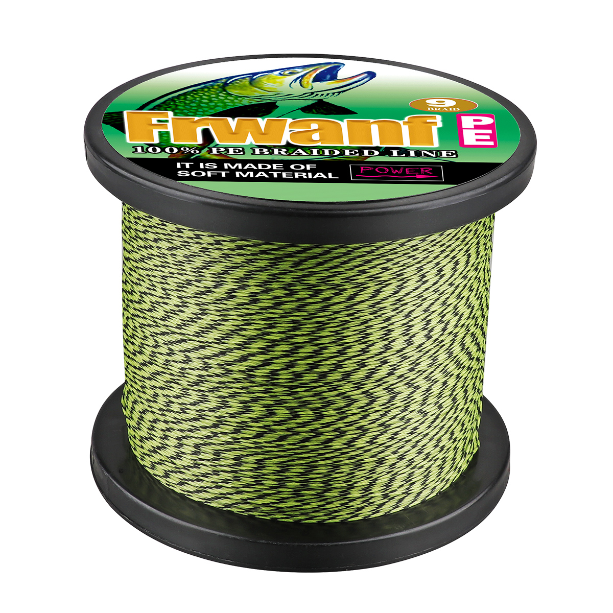 Frwanf super strong new braided fishing line 1500m 2000m spot line mix color 9 Strands 0 14 0 16 0 20 0 23 0 26 0 30 0 32 0 50mm in Fishing Lines from Sports Entertainment