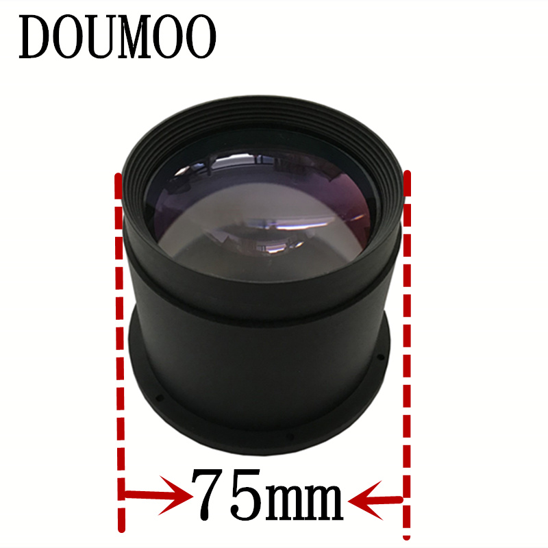 DIY font b projector b font lens F 260 mm HD projection proejector lens for font