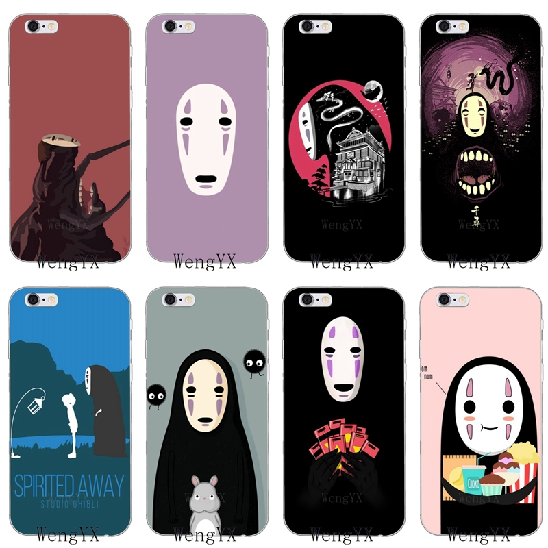 japanese anime spirited away no face silicone Soft phone case For Xiaomi Mi 6 A1 5 5s 5x mix max 2 Redmi Note 3 4 5 5A pro plus