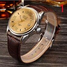 2018 Новые Мужские автоматические механические часы мужские часы полые модные трендовые светящиеся водонепроницаемые студенческие часы