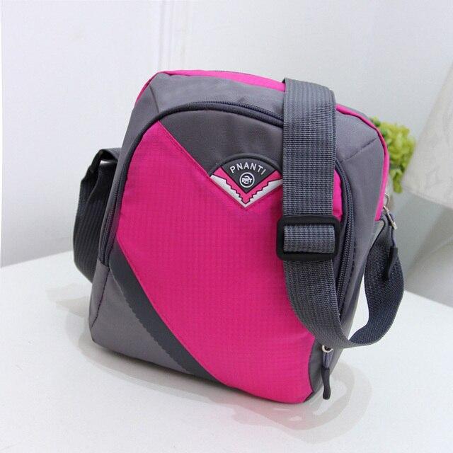 QZH 2017 New Women Oxford Shoulder Bags Ladies Waterproof Casual Zipper Messenger  Bag Small Handbags Kids Girls Crossbody Bags 3c6e65af40b38