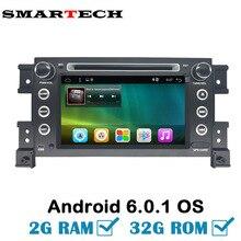 2 GRAM 32 GROM Android 2Din Voiture RDS Radio DVD Pour Suzuki Grand Vitara 2007-2011 Stéréo GPS de Navigation De Voiture USB Audio Vidéo lecteur
