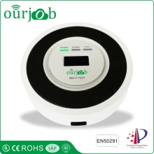 High Quality Home Safe 2-in-1 Carbon Monoxide and Gas Sensor Poisoning Detector Natural Gas Alarm