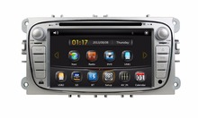 HD 2 din 7″ Car Radio DVD GPS Navigation for Ford Focus 2008 2009 2010 With USB Bluetooth IPOD TV SWC AUX IN