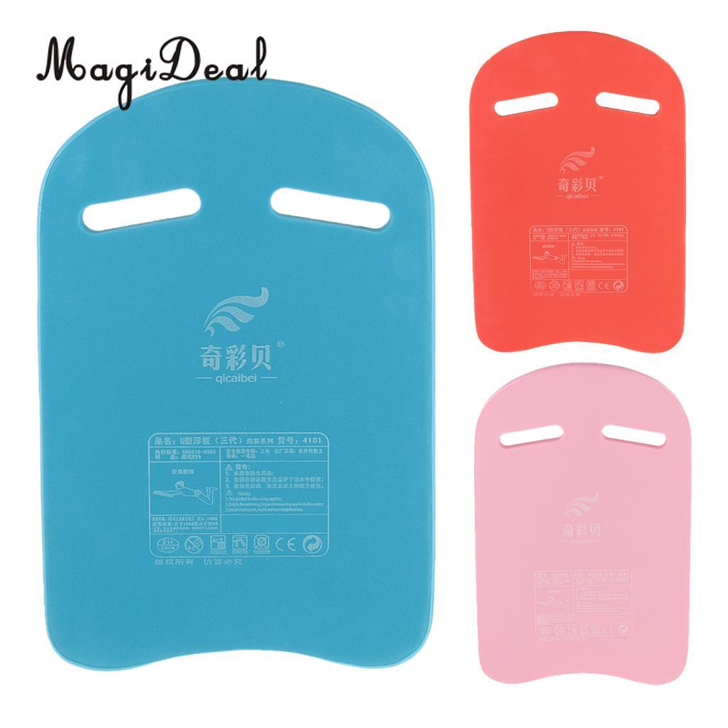 MagiDeal Swimming Learner Kickboard Surf Water Child Kids Adult Safe Pool Training Aid Float Hand Board Tool Foam Blue/Pink/Red