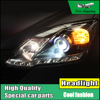 Car Styling Headlight For Honda CR V CRV Headlights 2007 2011 Head Lamp LED Angel Eye