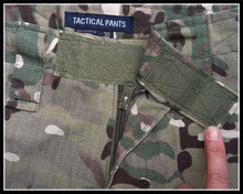 Camouflage Military Pants – With Knee Pads