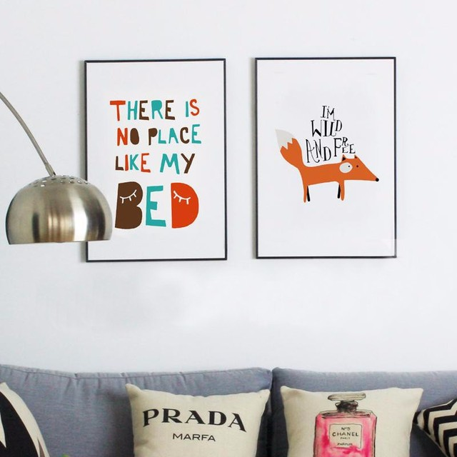 Fox Wall Art Paintings Posters Prints