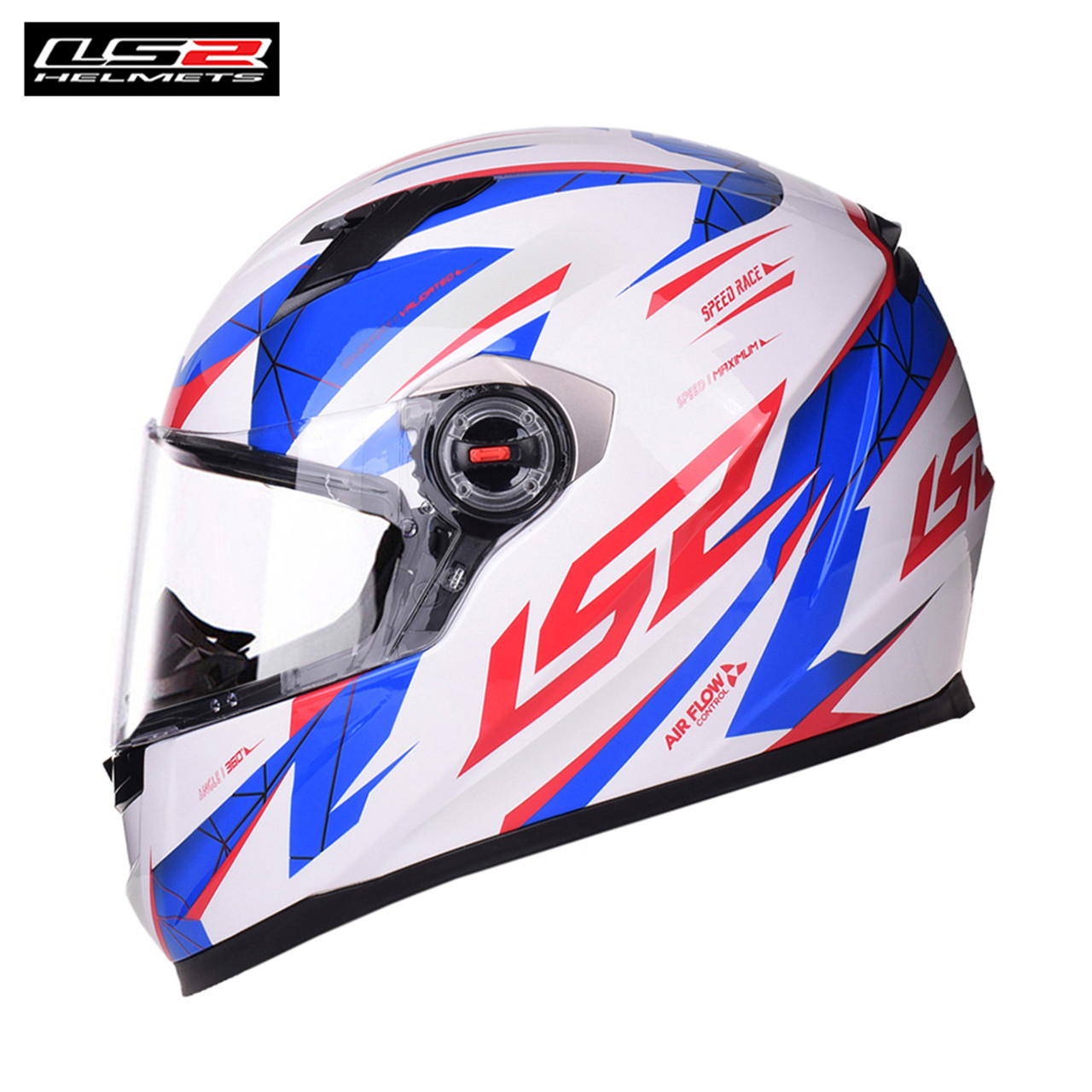 LS2 Helmets 2018 Motorcycle Full Face Racing Helmet Moto Cascos Capacete ls2 Barros Air Flow ls2 alex barros full face motorcycle helmet racing moto helmets isigqoko capacete casque moto ece approved no pump ff358 helmets