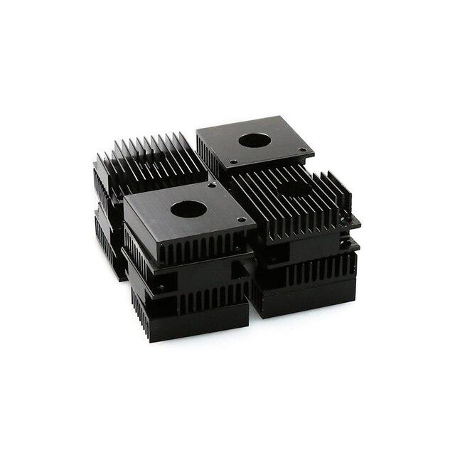 5PCS/lot 3D Printer Parts Makerbot MK7 / MK8 40*40*11mm Heatsink Cooling Fin Aluminum Heat Sink Extruder Motor