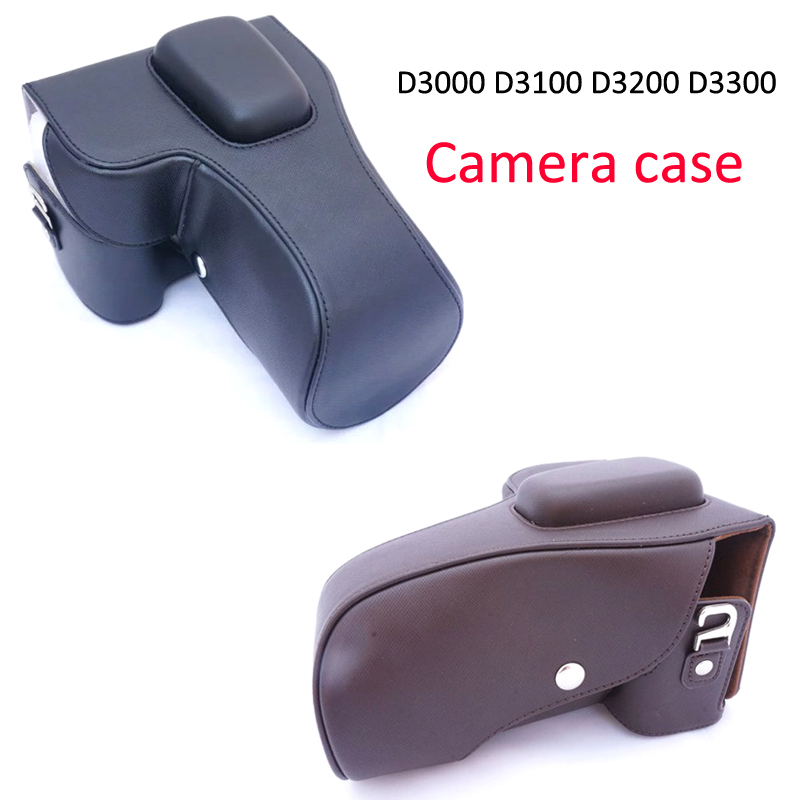 Portable Designed Camera Bag Hard Protective Case for Nikon D3000 D3100 D3200 D3300