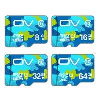 OV Micro SD Card 64GB 32GB 16GB Class 10 U1 Tarjeta Micro SD 8GB Class 6