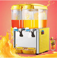 Double-tank Beverage Dispenser 36L Commercial Beverage Machine Cold & Heat Dual Use Drink Machine LY18-22