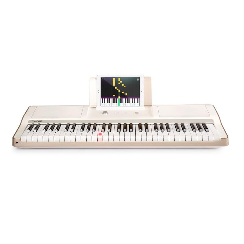 Intelligent Piano Portable 61-key Intelligent Keyboard Strength Keyboard Taiwan Electronic Children Beginners Early Education