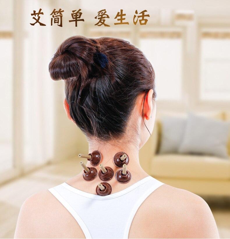 Small Moxa Stick Mini Smoke Moxibustion Stikers Massage Therapy For Arm Leg Abdomen Beauty Salon Home Care Tool Health Body цена