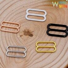 купить Wholesale 200 pieces various sizes of bra with adjustment slider for bra production дешево