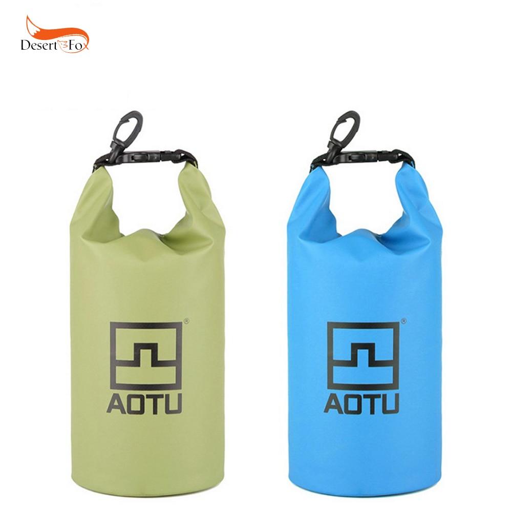 2 Colors 1.5L Water Bags Waterproof Dry Bag 12X28 cm Ultralight Portable Outdoor Rafting Hiking Camping Equipment