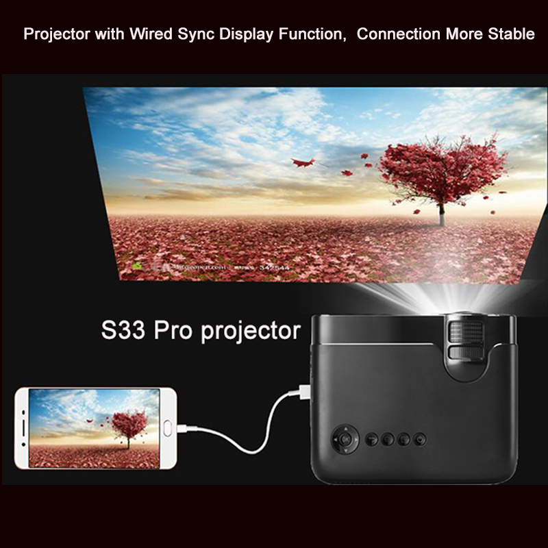 Image 2 - Smartldea AC3 HD 720P Mini Projector,Wired Sync display Optional,Support 1280x800 2400lumens Multimedia LED 3D Pocket Proyector-in LCD Projectors from Consumer Electronics