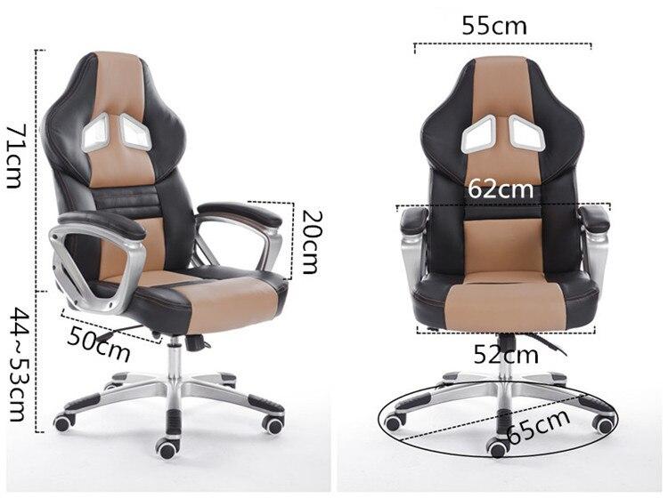 Di alta qualità di design ergonomico ufficio computer sedia di