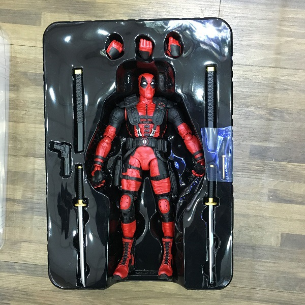 Deadpool 21cm 1pcs pvc figures marvel superhero x man action anime figures...