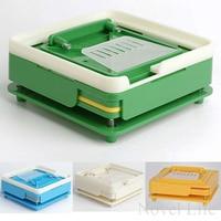 100 Holes Manual Capsule Filling Machine Pharmaceutical Capsule Maker Filler Size 0 For DIY Herbal Capsules