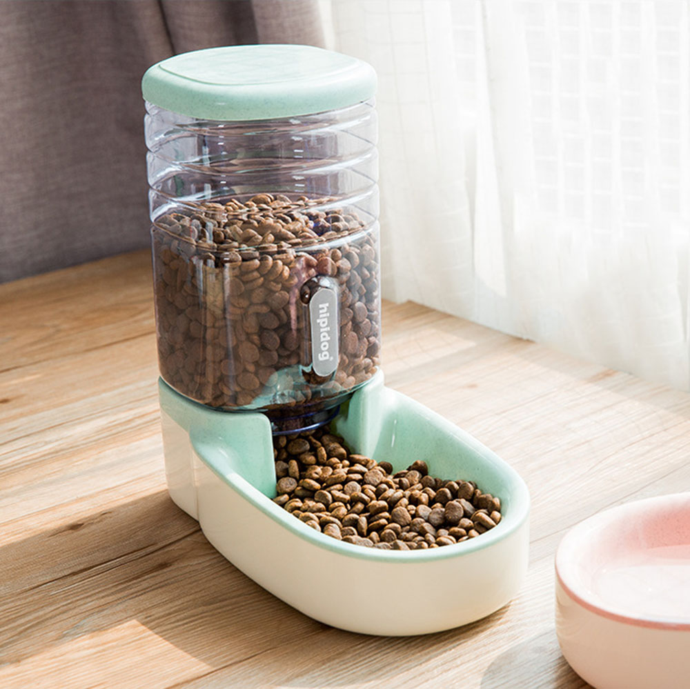 Large Capacity Pet Feeder and Water Dispenser For Dogs and Cats