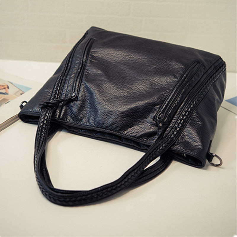 Crossbody Bags For Women Leather Handbags 2018 Fashion Women Messenger Bags Shoulder Bag Female Big Bucket Bag Designer WYQ177 8