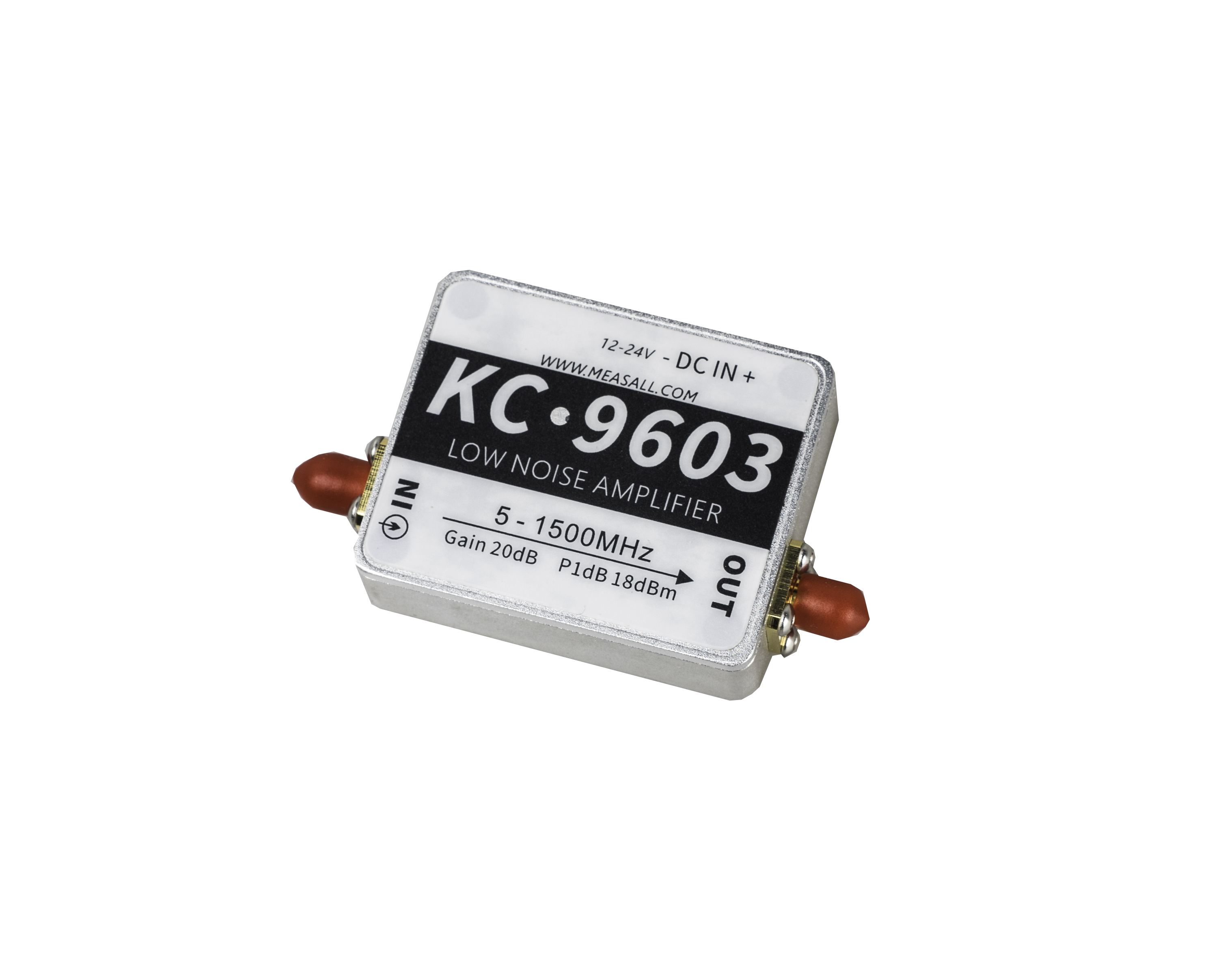 Pour KC9603 1.5G 20dB amplificateur LNA 5 MHz-1500 MHz