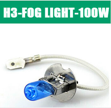 car lights H3 DC12V100W Super Bright White Fog Halogen Bulb Car Head Lamp Light Parking Source ZM01118 - Hua Shang Tripod CO., LTD store