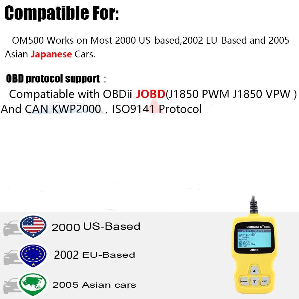 Details about Car JOBD Scanner OBD2 Code Reader Diagnostic Tool for Toyota  Nissan Honda Suzuki