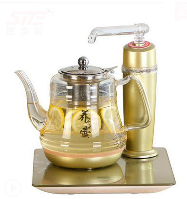 Electric kettle Automatic upper water electric glass tea - set Safety Auto-Off FunctionElectric kettle Automatic upper water electric glass tea - set Safety Auto-Off Function